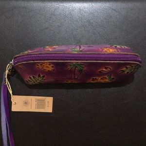 Bags - Handmade Genuine Leather Clutch From Hawaii